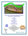 Navigating Discourse Genres: Parallel Texts in American Sign Language and English on Canoeing in the Boundary Waters