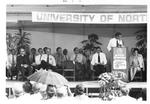 Groundbreaking Ceremony Dais, September 18,1971