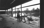 Inside Building 1 During Construction, 1972