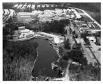 Aerial View of UNF Candy Cane Lake, Theater and Activities Complex
