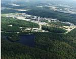 Aerial View of Lake Oneida and UNF Campus
