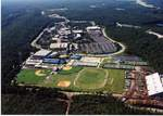 Aerial View of  Athletic Fields and Campus, 1999