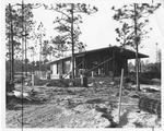 The First Boathouse Under Construction