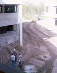Courtyard Construction, December 1974