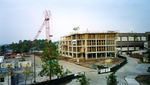 Construction of the Library Addition, November, 2004