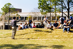 Class on University Green