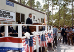 Governor Graham Speaking at Osprey Village Groundbreaking Ceremony