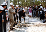 First On Campus Student Residence, Groundbreaking