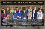 Teaching Online Foundation Course--Track A, Fall 2019