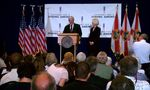 Newt Gingrich Press Conference by Jessica Barber