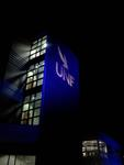 UNF Logo Projection by Jessica Barber