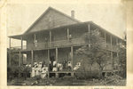 The Old Folks Home, Jacksonville Fla., Postcard