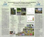 Management of the Sawmill Slough Preserve, University of North Florida by Justin M. Lemmons, Charles Hubbuch, and Anthony M. Rossi