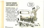 Governor Graham's Auto Inspection List