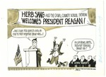 Herb Sang and the Duval County School System Welcomes President Reagan!