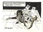 Legislature's Newest Redistricting Board Game -- The Pretzel!