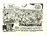 Jacksonville. Now 1,000,000 Strong