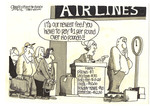 Airlines start up their new fees!