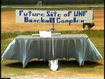 Groundbreaking UNF Baseball Stadium, May 9, 1987