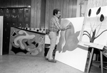 Professor Charles Charles with Studio Art