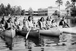 Canoeing on Boathouse Lake
