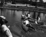 Canoe Race, 1974 by University of North Florida