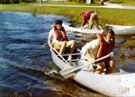 Canoe Race, 1976 by University of North Florida