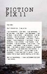 Fiction Fix 11 by Russell Turney, William Northrup, David Press, Petra Press, Scott David, David Livingstone Fore, Masha Sardari, Marianne Langner Zeitlin, Bily Simms, Emily Zasada, Joe Ponepinto, Nathan Holic, Michael Cocchiarale, Mimi Lipson, Suzanne Ushie, Jonathan Baylis, and Thomas Boatwright