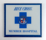 Blue Cross Member Hospital Sign