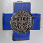Blue Cross Lapel Pin