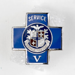 Blue Cross 5 Year Service Lapel Pin