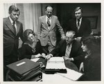Blue Cross and Blue Shield Affirmative Action program signing