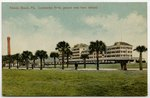 Atlantic Beach, Fla. Continental Hotel, general view from railroad.