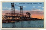 Bridges Across St. Johns River, Jacksonville, Florida