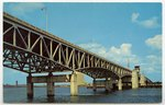 The Imposing Fuller Warren Bridge Spanning the St. John's River, in Jacksonville, Florida