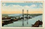 St. John's River Bridge, Jacksonville, Florida 1900-1920