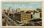 Bird's eye View of the Business Section, Jacksonville, Florida 1900-1930