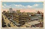 Bird's Eye View, Business Section, Jacksonville, Florida 1900-1930