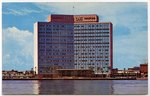 The Atlantic Coast Line Building on the Beautiful St. Johns River in Downtown Jacksonville. 1967