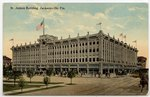St. James Building, Jacksonville, Florida. Circa 1900-1920