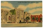 Main Street Baptist Church, Jacksonville, Florida 1905-1920