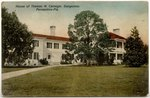 House of Thomas M. Carnegie. Dungeness. Fernandina, Florida.  1900-1930