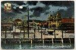 Dixieland Park at night, Jacksonville, Florida. 1909