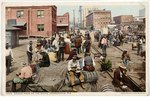 Dinner Hour on the Docks, Jacksonville, Florida. 1900-1920