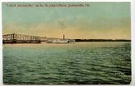 """City of Jacksonville,"" on the St. John's River, Jacksonville, Fla. 1900-1930"