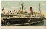 "Steamer ""Arapahoe"" Clyde Line. 1900-1930"