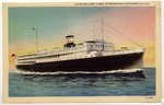 Clyde-Mallory Liner Approaching Jacksonville, Fla. 1900-1920