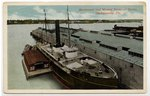 Merchants' and Miners' Terminal Docks, Jacksonville, Florida. 1900-1920