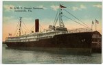 M. & M.T. Steamer Suwannee, Jacksonville, Florida. 1900-1920