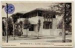 Residence of H.J. Klutho, Jacksonville, Florida. Circa 1910-1950
